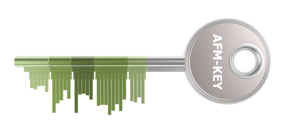AFM Schlüssel